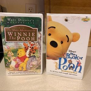 Winnie the Pooh Set- Adventures Of & Book of Pooh